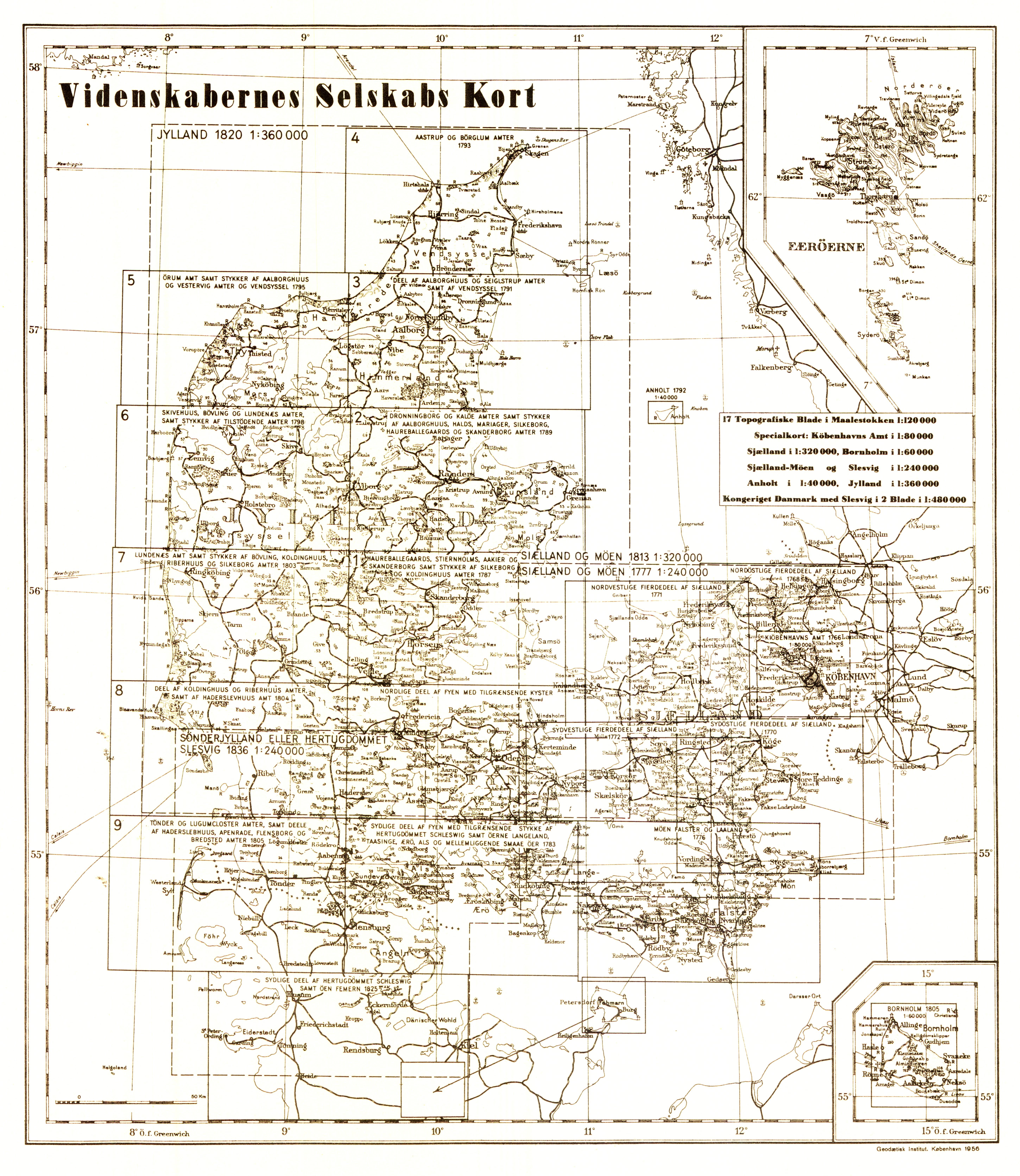 historiske kort på nettet