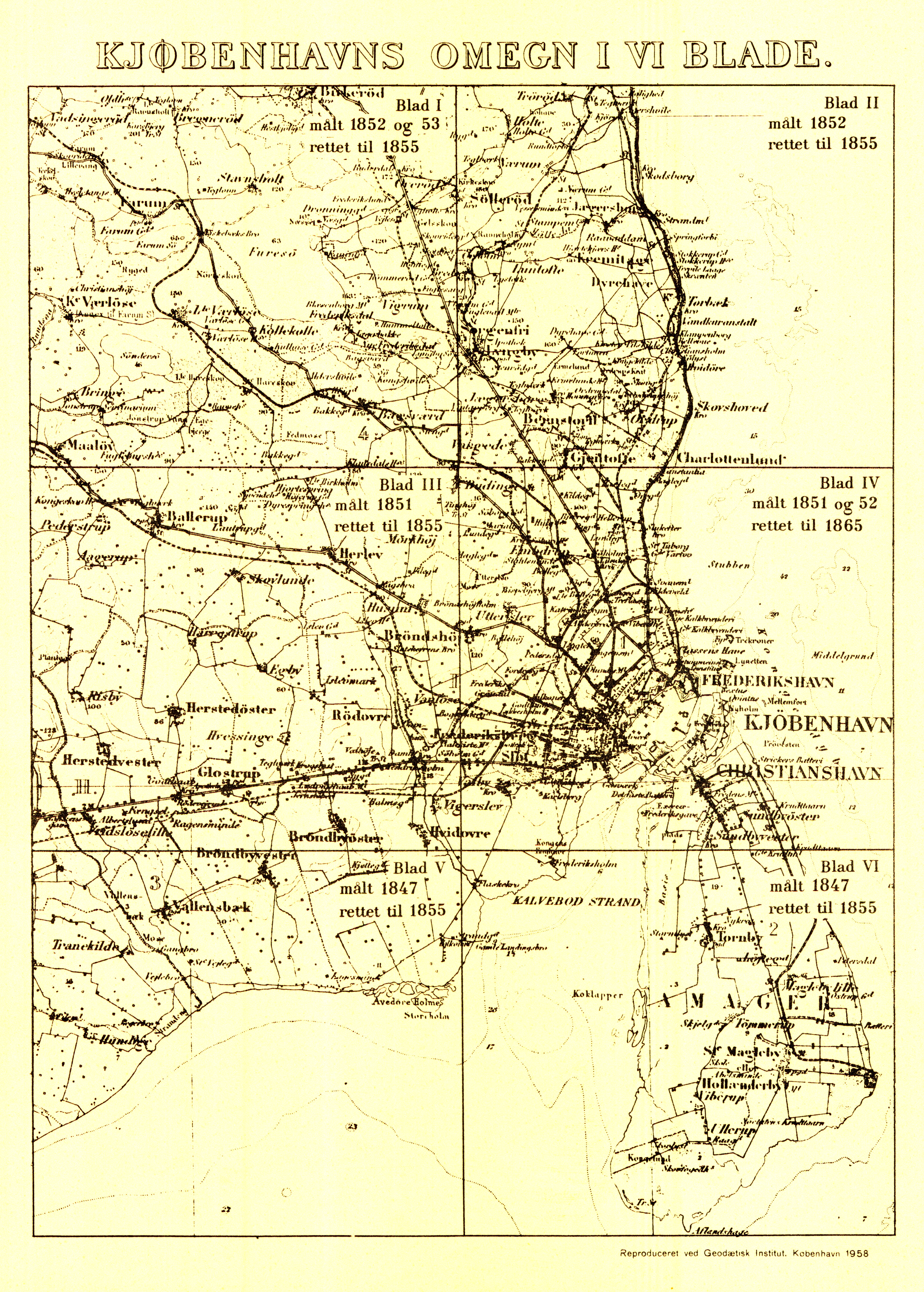 Historiske Kort Pa Nettet